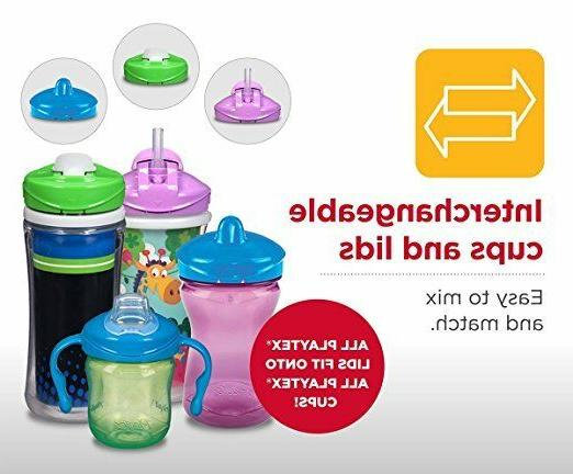 Baby Kids Children Cup Straw Spill Proof