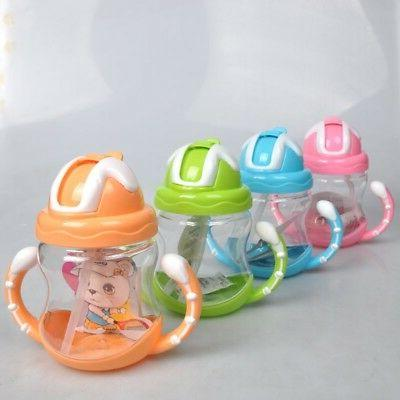 Baby Non-Spill Silicone Sippy Cup Handles Trainer