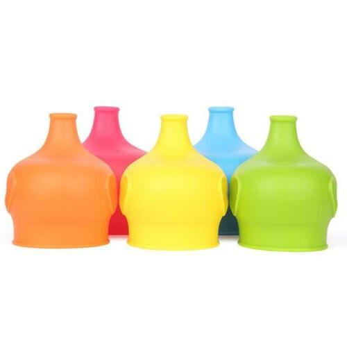 baby silicone sippy cup lids for bottle