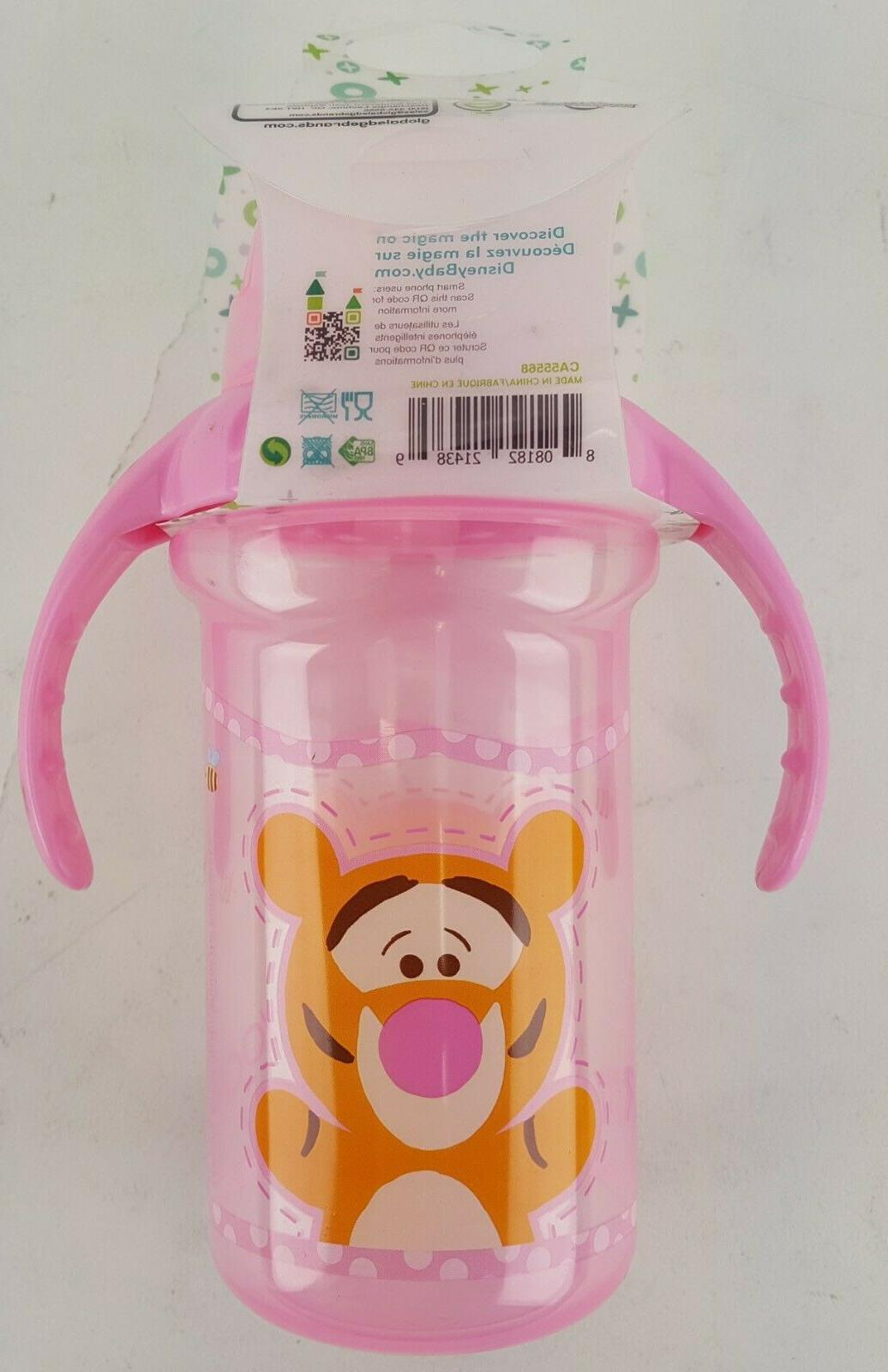 DISNEY CUP AND TIGGER TOO BPA FREE 6+ MONTH