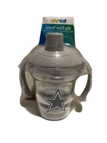 baby toddler sippy cup handles nfl dallas