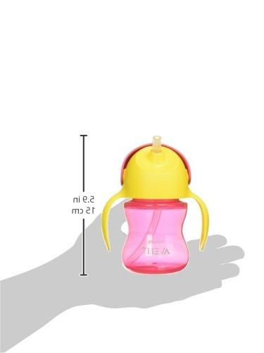 Philips Straw Cup, Pink/Purple,