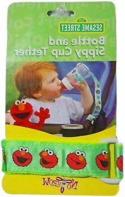 Sesame Bottle Sippy Cup Tether Boys