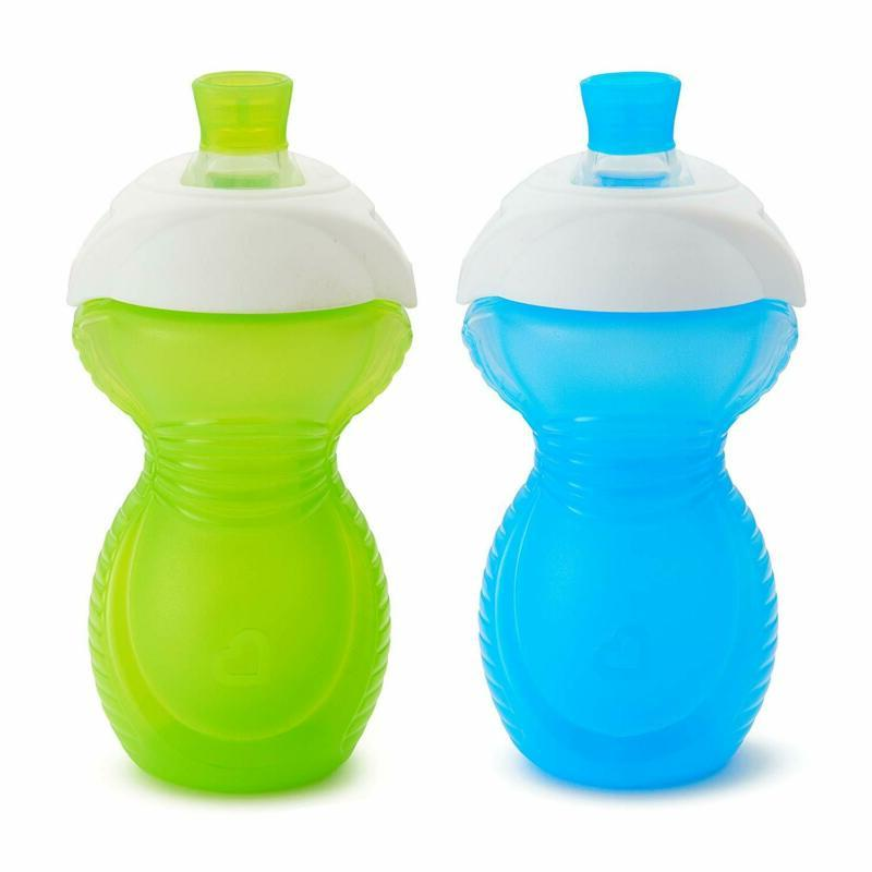 click lock bite proof sippy cup blue