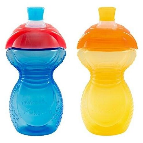 click lock bite proof sippy cup yellow