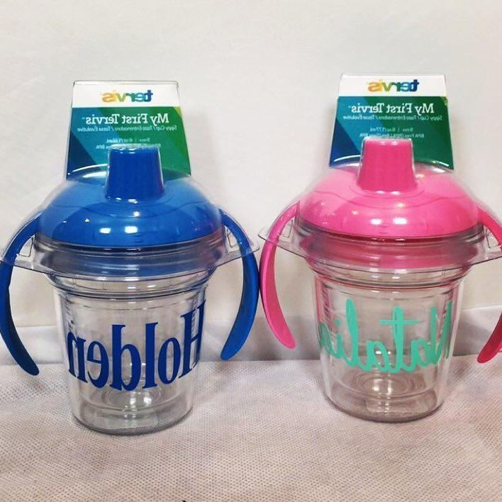 custom personalized sippy cup monogram insulated training