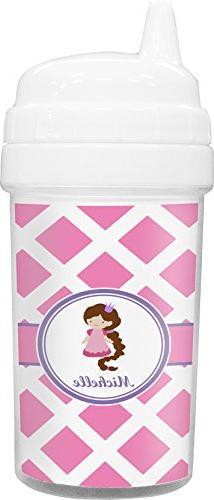 Diamond Print w/Princess Toddler Sippy Cup