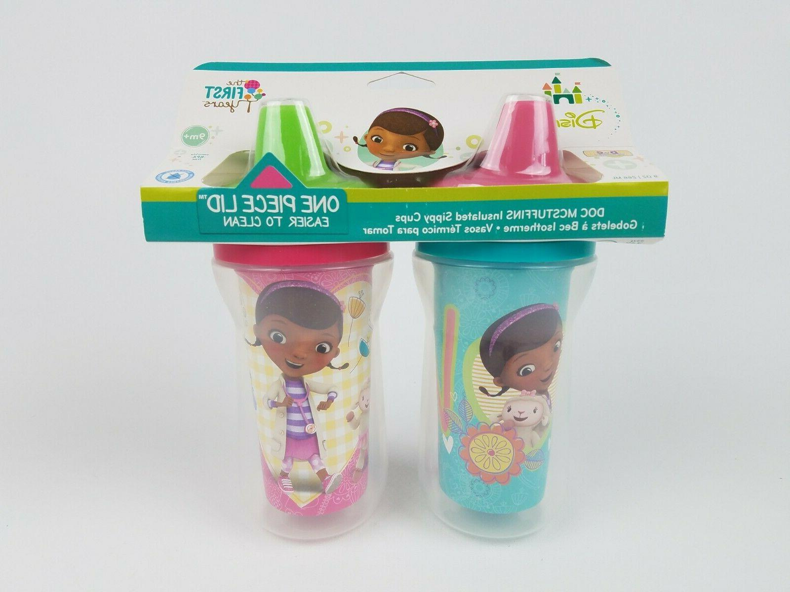 disney doc mcstuffins insulated sippy cup 9