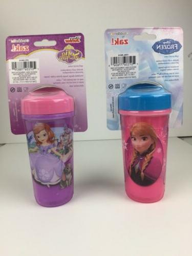 Disney Frozen Cup Sofia Toddlerific! By Zak! Insulated Sippy