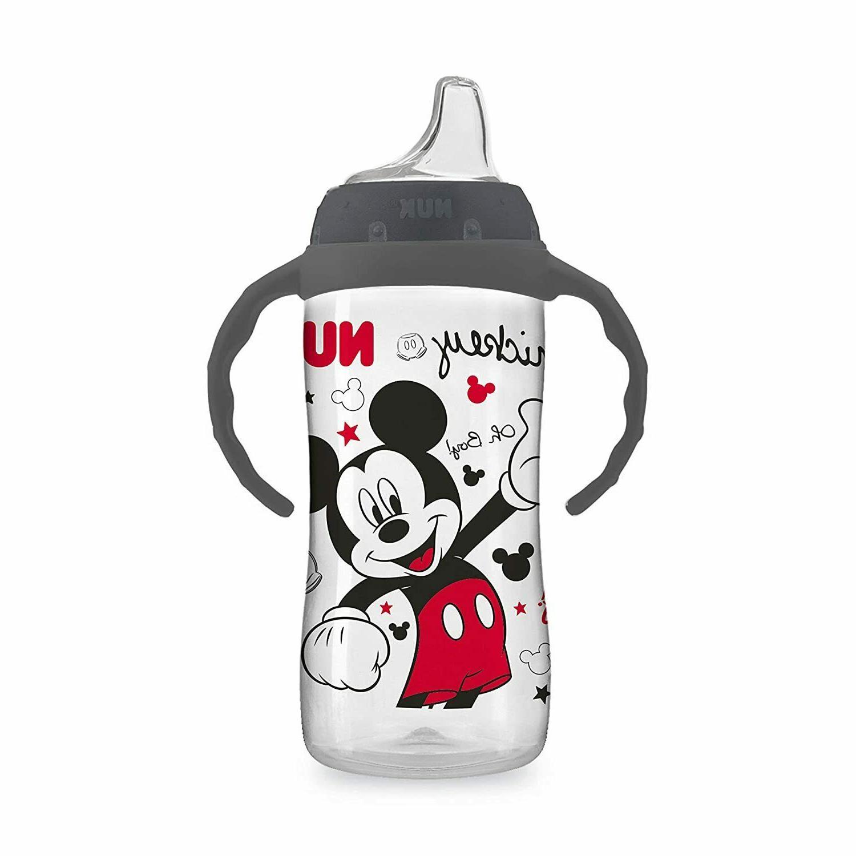 Babies Large Feeding Mickey Mouse Drinking Water Bottle Learner oz
