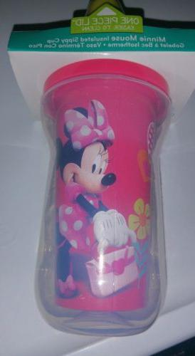 Minnie Insulated Sippy Cup 9+Months