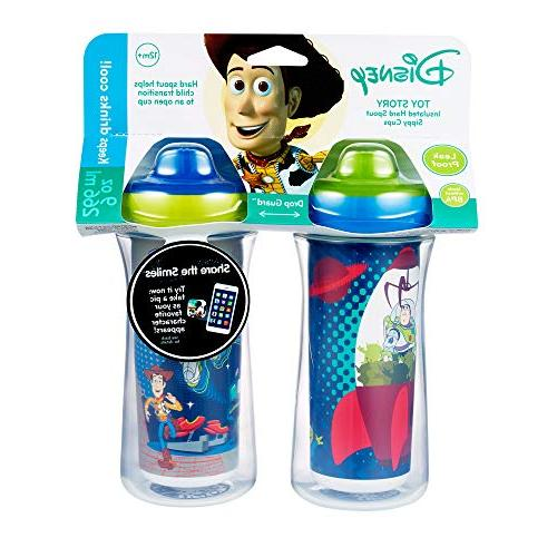 Disney/Pixar Story Hard Sippy 9 Scan with the App for Cute with Friends Proof Cups | Drinks Guard