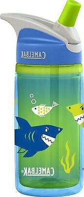 eddy sharks insulated water bottle