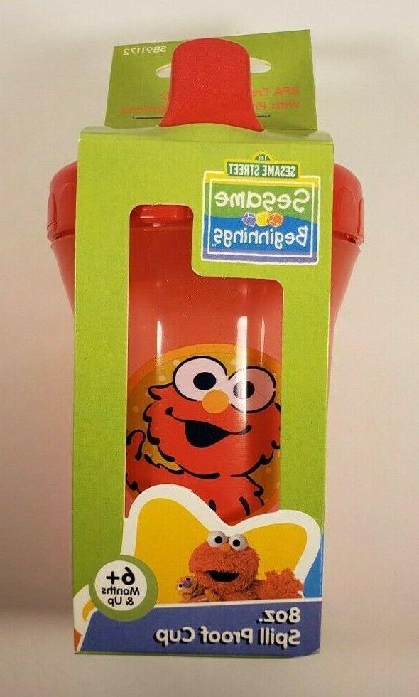Sesame Elmo Free 8oz & 2pc Spoon