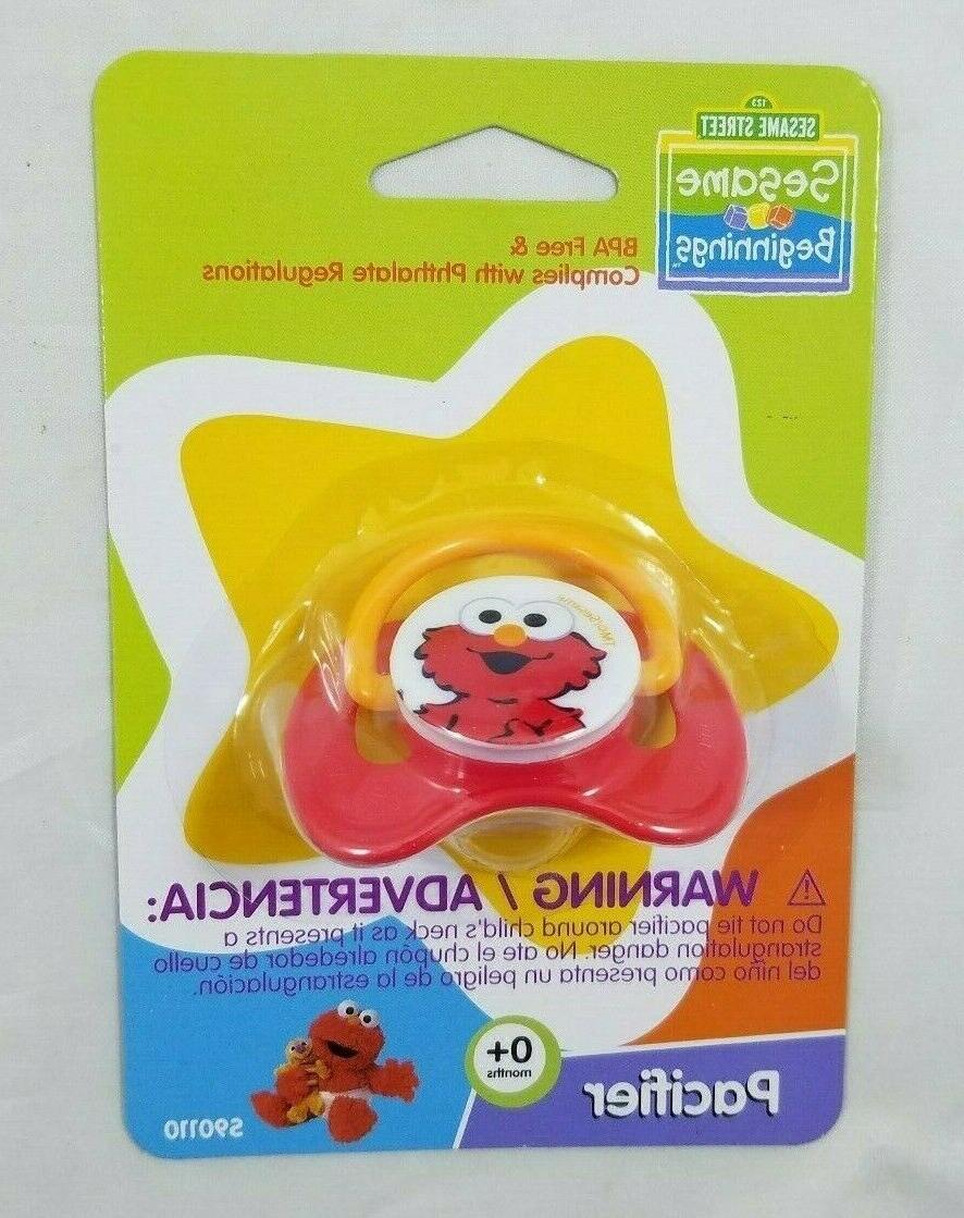 Elmo Street Lot 8oz oz Bottle Pacifier Boy Girl