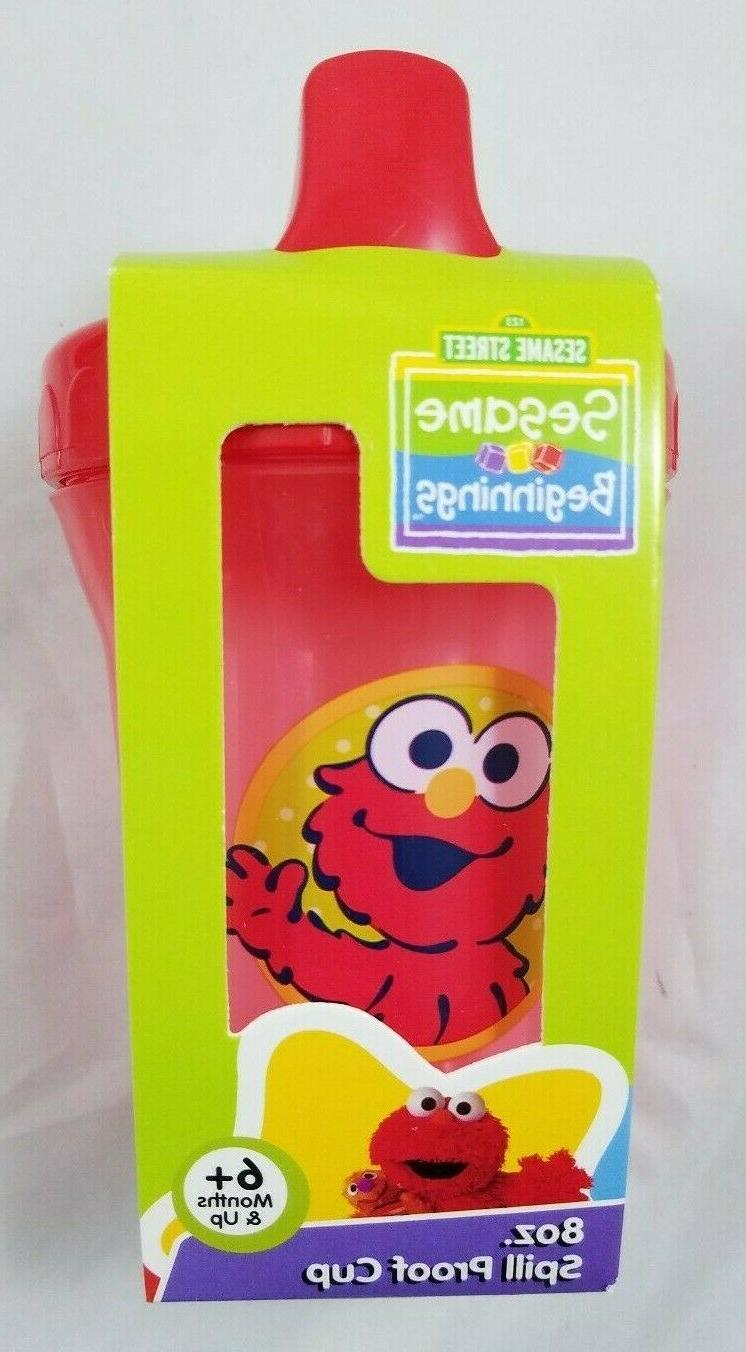 Elmo Lot 8oz Sippy oz Girl Baby