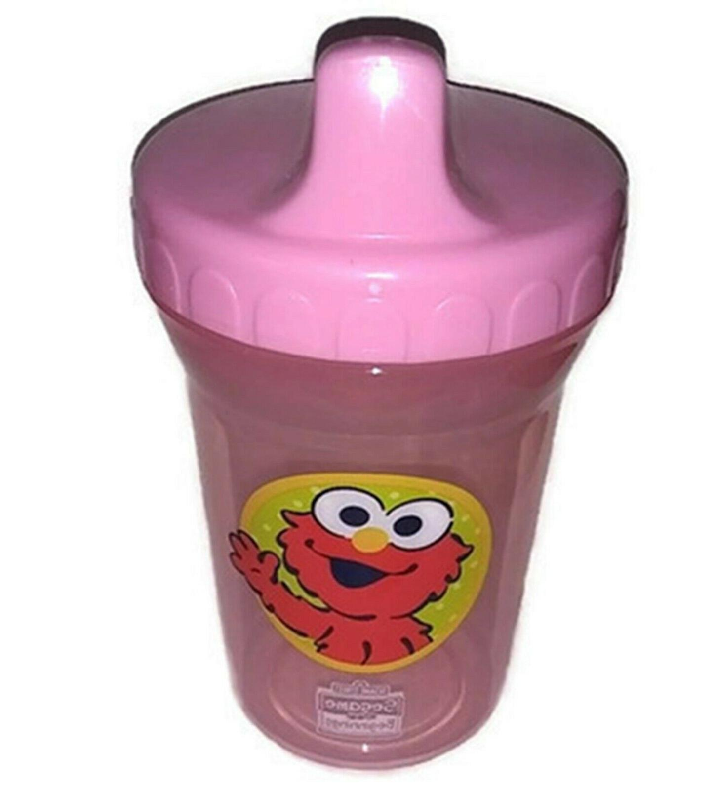 elmo sippy cup pink 8oz spill proof