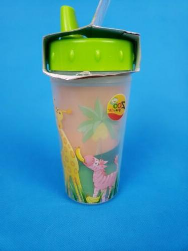 Evenflo Zoo Friends Cup ~ month 10 Oz NEW Insulated