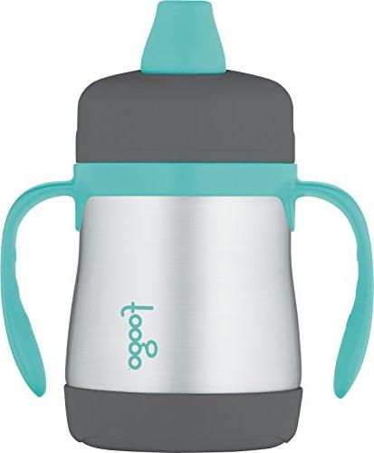 THERMOS FOOGO Vacuum Insulated Stainless Steel 10-Ounce Hard