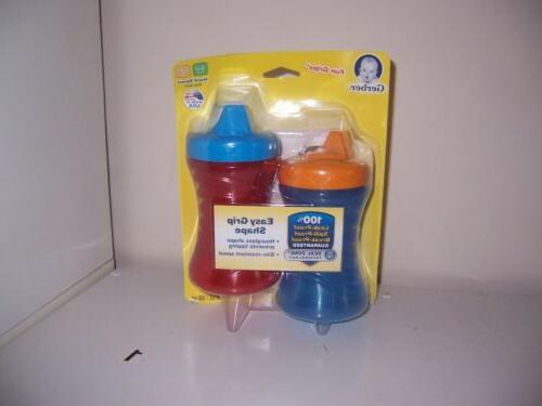fun grip shape sippy cup new red
