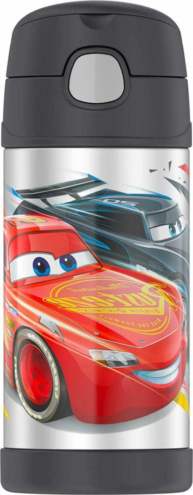 Thermos FUNtainer Cars 2 Bottle - 12 fl oz  - Vacuum