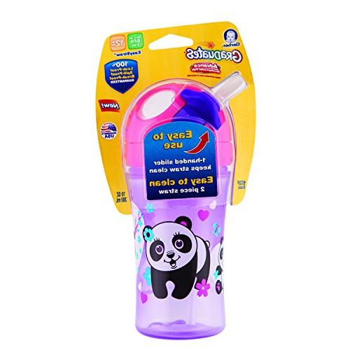 Gerber Graduates Straw Cup Zone Technology, Colors