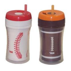 NUK Gerber Graduates Insulated Straw Sports Cup 9oz - 2pk