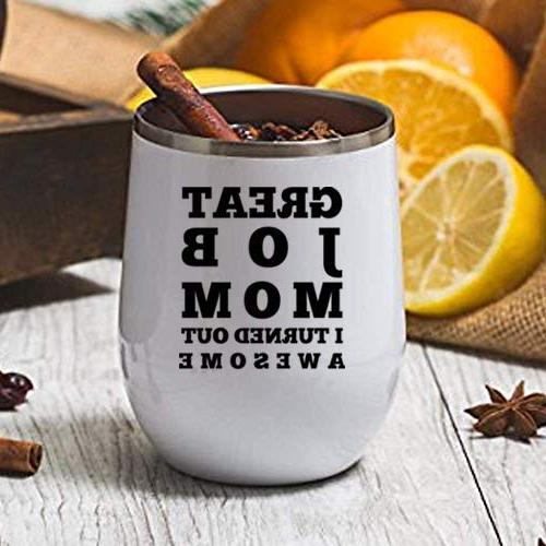 Great Job - Birthday Gifts or Steel Tumbler oz Lid Funny Gift Her, Husband or Insulated Cups