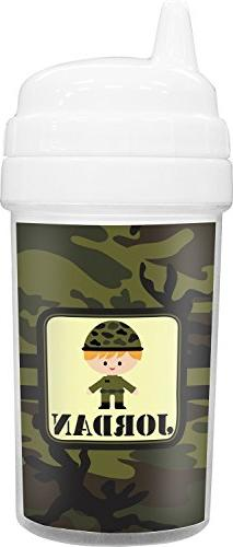 Green Camo Toddler Sippy Cup