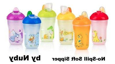 insulated no spill soft sipper sippy cup