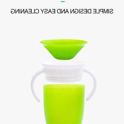 Kids Sippy No Spill With Double Leak Handles