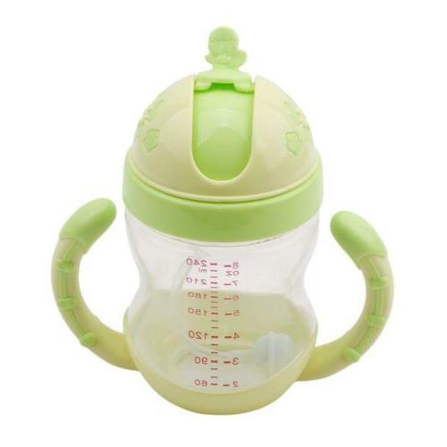 Kids No Spill Cup Soft Spout Bottle W