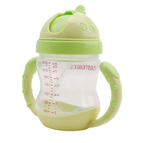 Kids Sippy No Spill Cup with Bottle