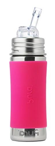 Pura Kiki 11 Oz / 325 Ml Stainless Steel Bottle With Silicon