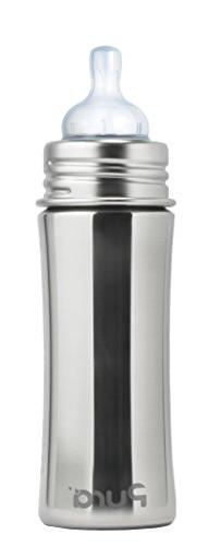 Pura Kiki 11 Oz / 325 Ml Stainless Steel Infant Bottle With