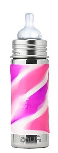 Pura Kiki 11 Oz / 325 Ml Stainless Steel Infant Bottle With