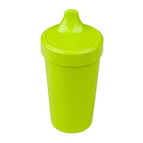 Re-Play in the USA Sippy for Toddler, - Aqua, Purple, Durable, and Tough