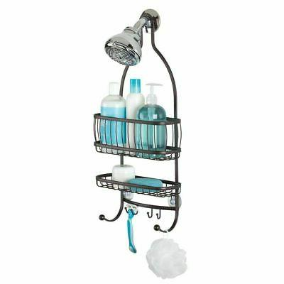 mDesign Metal & Shower Caddy, Hanging Storage Organizer
