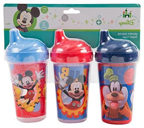 mickey mouse clubhouse sippy cups