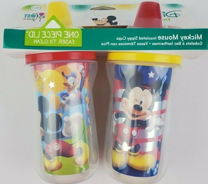 mickey mouse insulated sippy cup