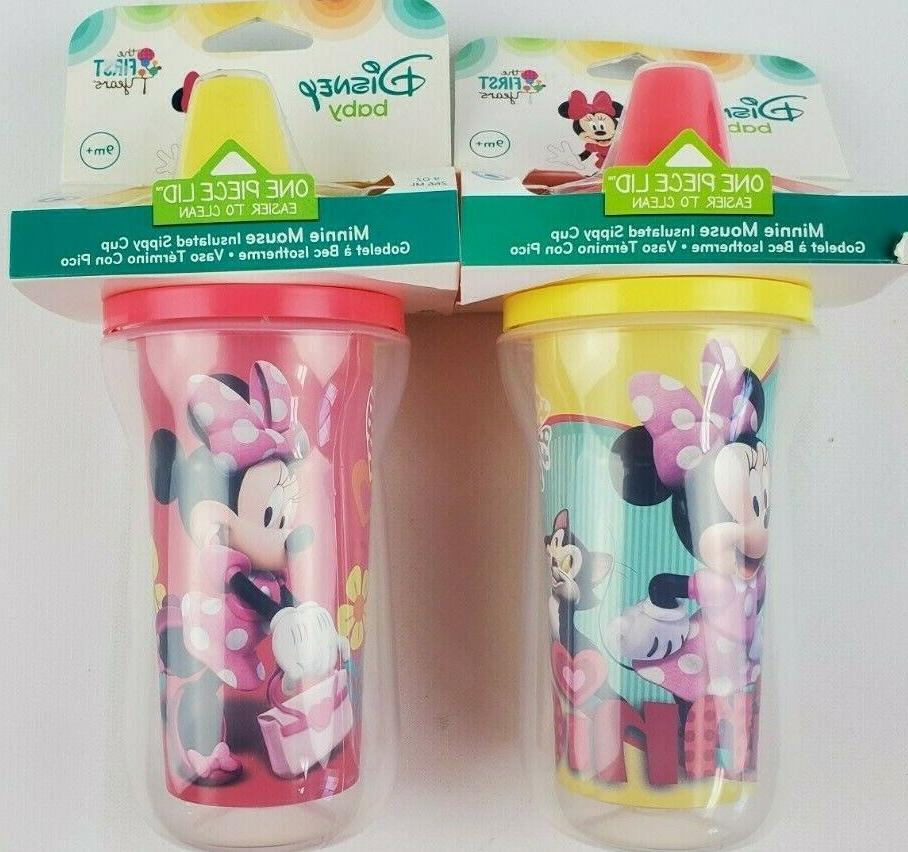 minnie mouse insulated sippy cup