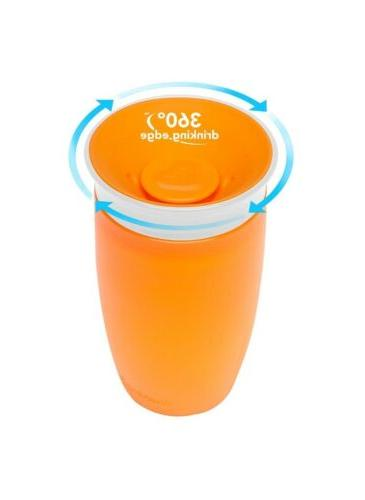 Munchkin Miracle Free Sippy Cup ounce Blue orange