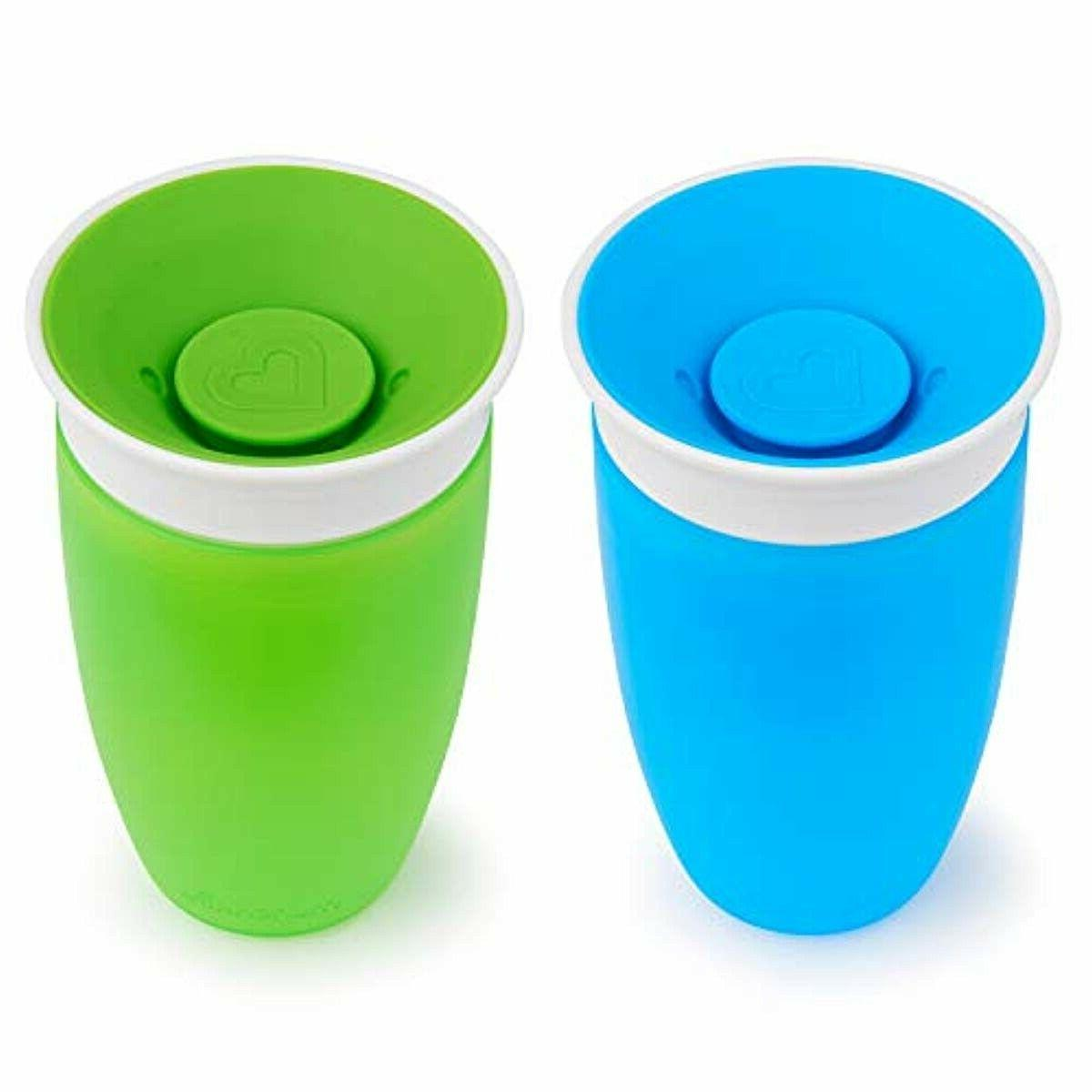 Munchkin Miracle 360 Cup, Green/Blue, 2