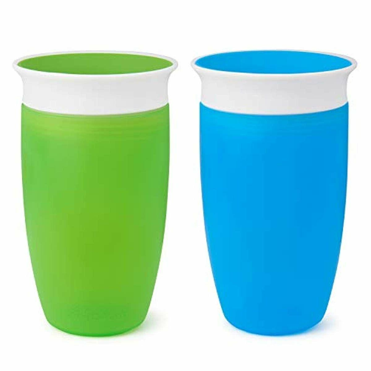 miracle 360 sippy cup green blue 10