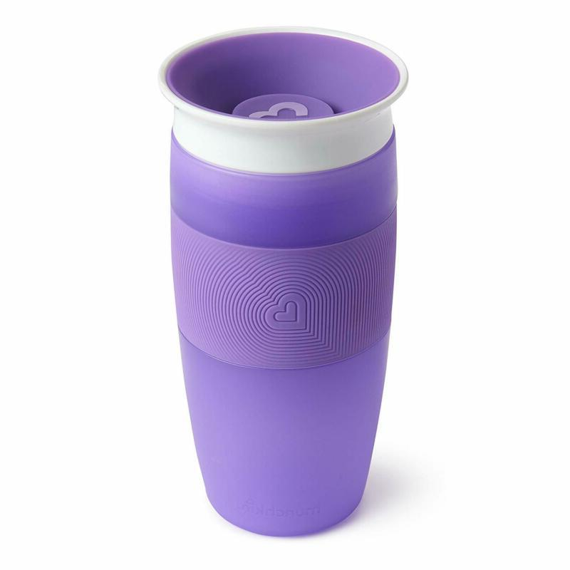 miracle 360 sippy cup purple 14 ounce