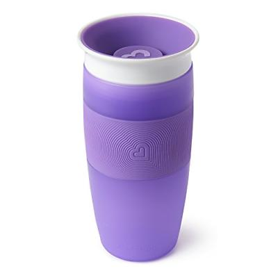 miracle 360 sippy cup purple 14 oz