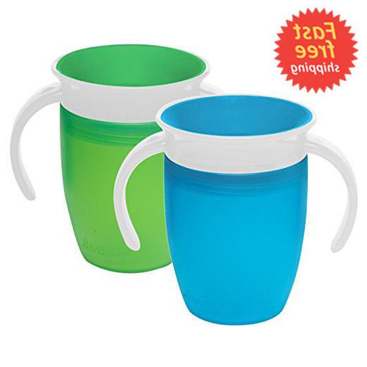 Munchkin Miracle Sippy Cups Baby Kids Proof Blue