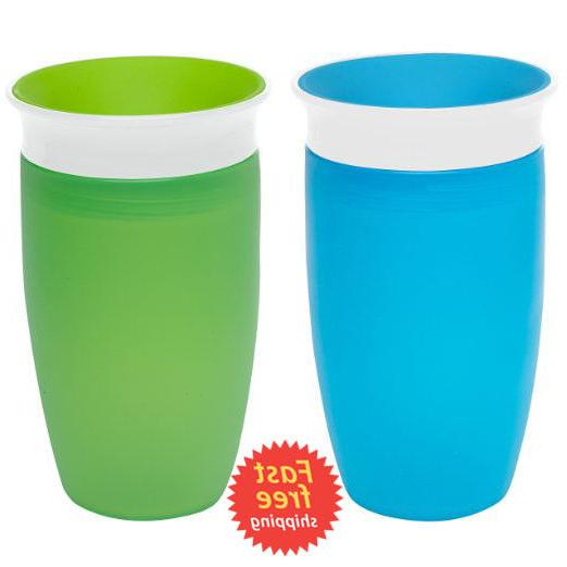 Munchkin 360 Sippy Cups Baby Kids Blue