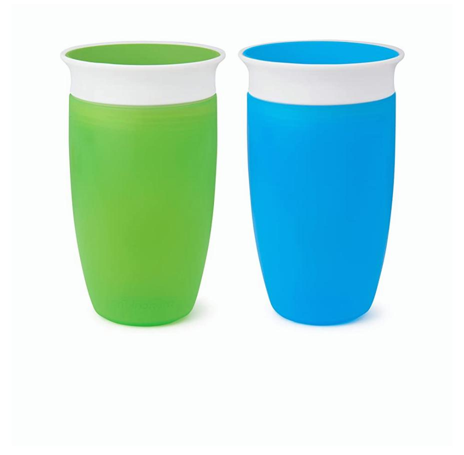 miracle 360 trainer cup green blue 10