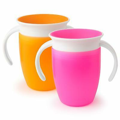 miracle 360 trainer cup pink orange 7